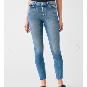 DL1961 High rise skinny jeans in Dogwood